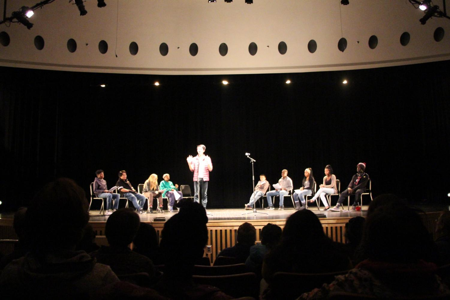 On Thursday, December 14th, the second annual spoken word/dance show graced the stage of South High.