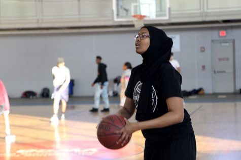 Girl's basketball team swished the net in Semi-finals, but missed the game