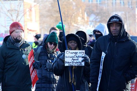 Protest against Super Bowl tackles police brutality, corporate interests