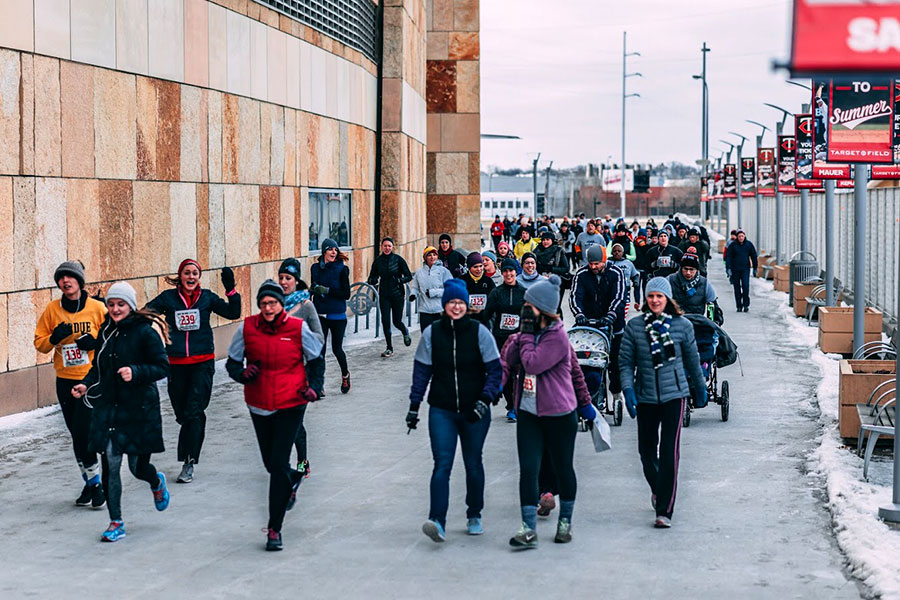 "Hundreds of people participated the ""Not in Our City"" 5k run that took place this past December. The goal of the run was for the ""Not in Our City"" campaign to raise awareness about sex trafficking in Minnesota and to raise money to donate to other local anti-sex trafficking organizations."