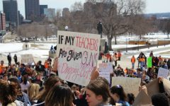 Students statewide walkout, gather at Capitol to protest gun violence
