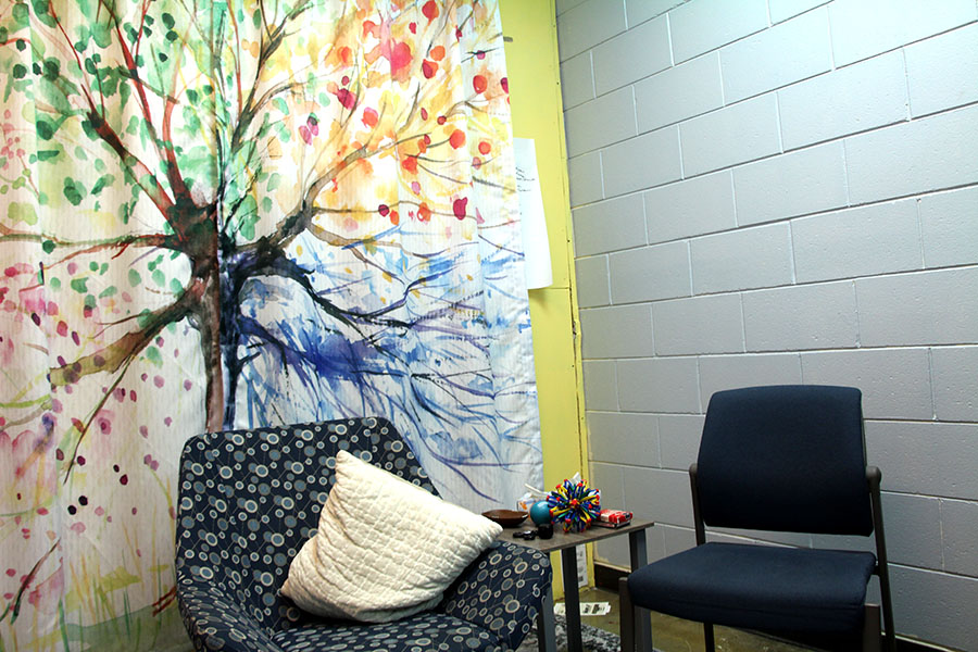 The South Mental Health Clinic's office for therapist, Farah Hussein. Hussein said she wants for