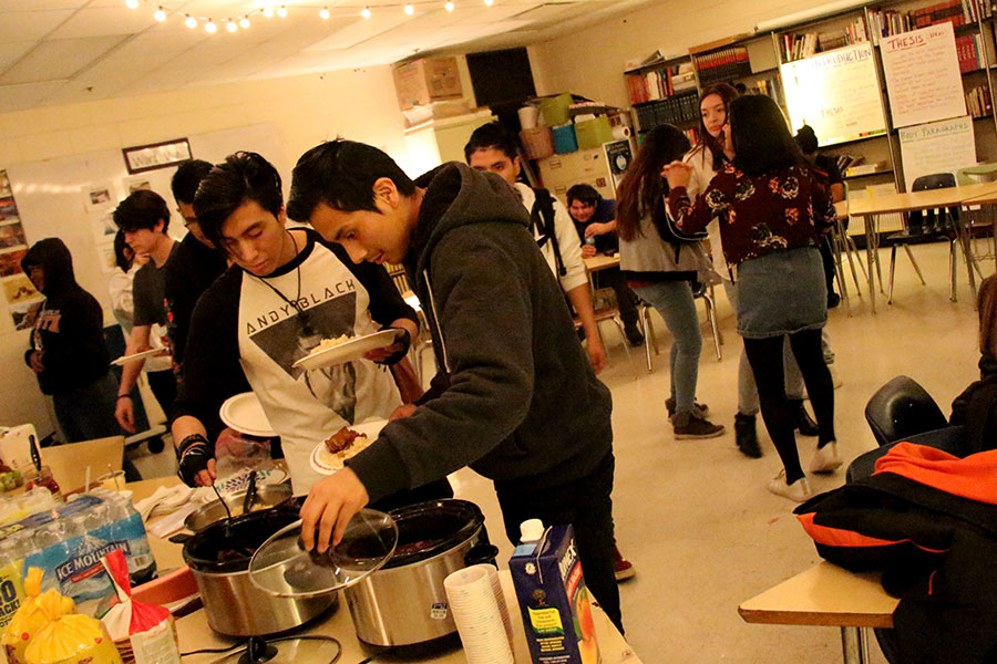 UNIDOS celebrated their second annual holiday party on December 20th. All South High students were invited to help kick off the winter break. There was food, dancing, energetic music, and a lots of smiling faces.