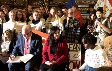 South students urge Governor Walz to take action on climate change