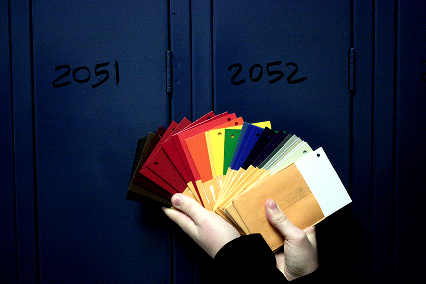 Improving South's aesthetic one locker at a time: new renovations to be completed by next fall