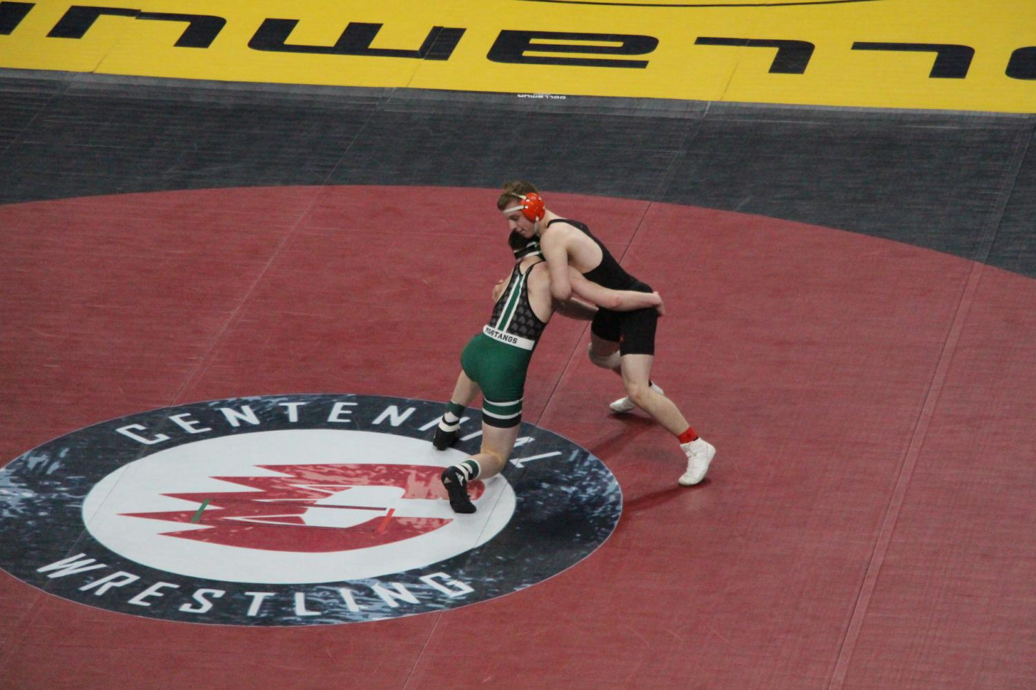 """Early this month was the Minnesota State wrestling tournament, held at the Excel Energy Center. This year two South wrestlers, brothers Brian and Daniel Avre, both qualified. Wrestling is a family tradition for them, and they have both been wrestling since around five. """"It's been a lifelong run for both of them. They've both been wrestling their whole lives and they just really put in the time,"""" said their coach Joe Morgan."""