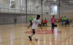Andrew Njogu dribbles his way to the national futsal team