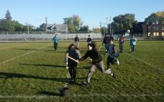 All Nations students build community with lacrosse sticks