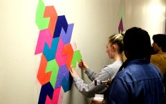 New geometry mural is anything but pointless
