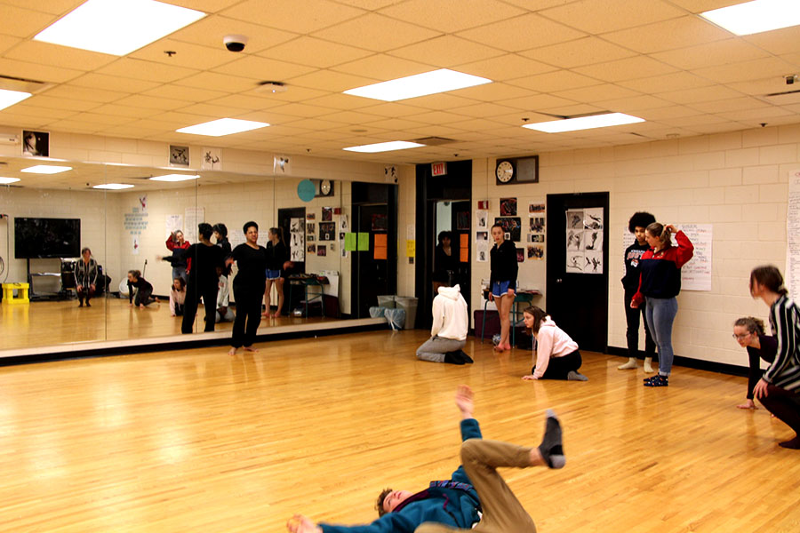 The South dance room is a space where South students feel like they can be themselves without any of the hate or judgment from the outside world that people feel from day to day.