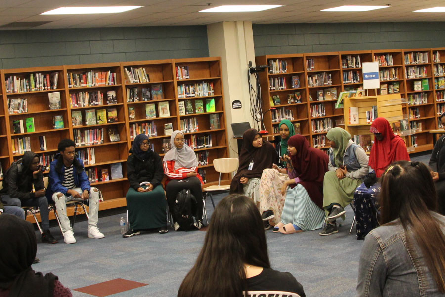 Community leader and mental health advocate, Imad Mohamed came to South High to discuss depression and the benefits of seeking treatment for mental illnesses. Having members of the Somali community come to participate in Silver Ribbon Campaign (SRC) meetings has helped many Somali students at South open up about mental health. However, there is still a lot of stigma about mental health within our community.