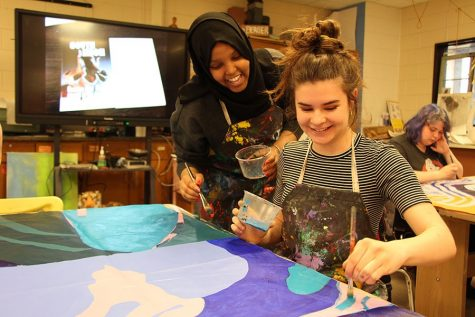 Different ceramic methods provide creativity and variety to South students