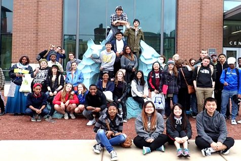 Project Success is going on a college tour from April 18-21.  Last year the group went on a college tour in Chicago, in which the group posed for a photo.