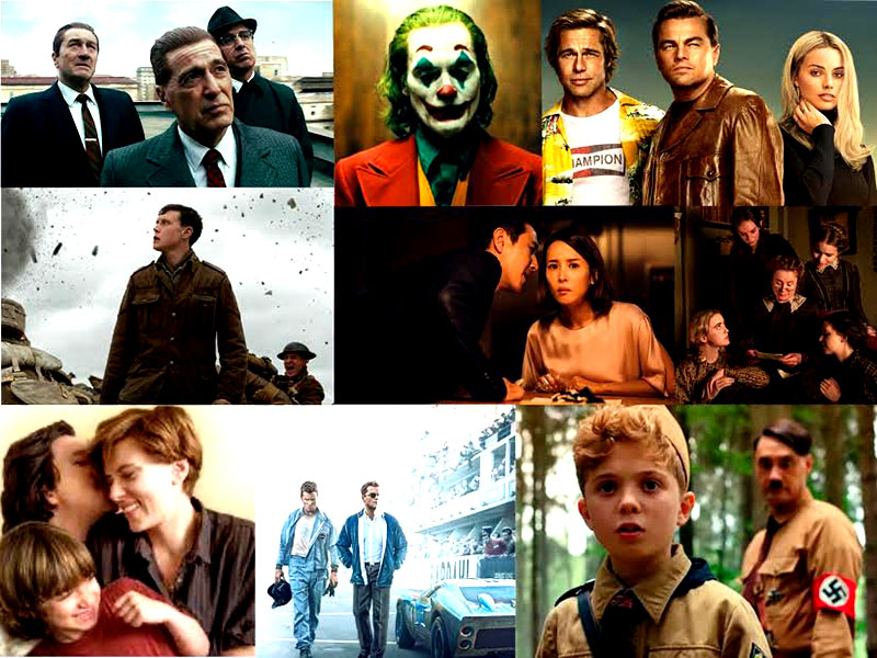 These are the nine films nominated for best picture. The variety this year is more than that of years past.