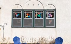 "During these times art is giving people some hope and bonding them. This is just one of many art trends that have sprung up all over the country. People can draw support from the art in their neighborhood. South Minneapolis resident Sara Hardwig participated in it and said, ""It may be individually hard, the feeling of doing it [art] together makes it easier for me."