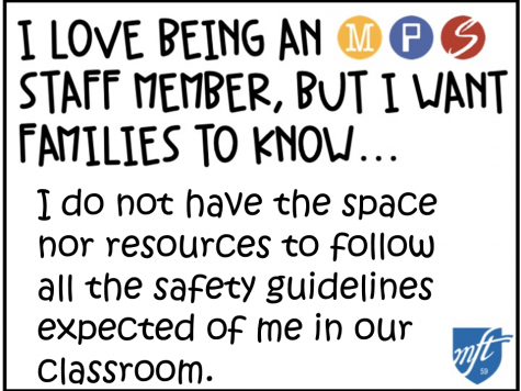 On Friday, January 8th, it was announced that Minneapolis Public Schools (MPS) intends to offer a full time return to in-person school for PreK through grade 5 teachers and students, starting in February. Minneapolis Federation of Teachers and Educational Support Professionals (MFT) has been strongly opposing the current plan, calling for more safety precautions to be put in place and for teachers to get vaccinated before returning to school. They are hosting many live meetings and posting on their social media to discuss their dissent towards the plan and uplift voices of MPS staff and guardians.