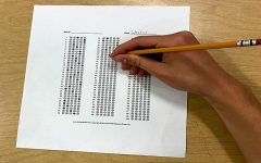 """By most metrics, standardized testing is an ineffective way to measure learning. """"[Standardized testing] costs money and time to tell if students are learning. Administrators can come into our classrooms and see evidence of learning,"""" Teacher Mary Manor said."""